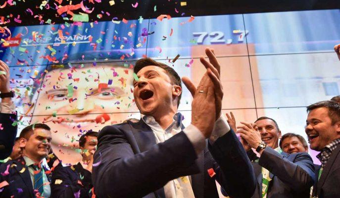 Ukrayna Acemi Politikacının Seçimleri Kazanmasının Ardından Gerçekle Karşı Karşıya