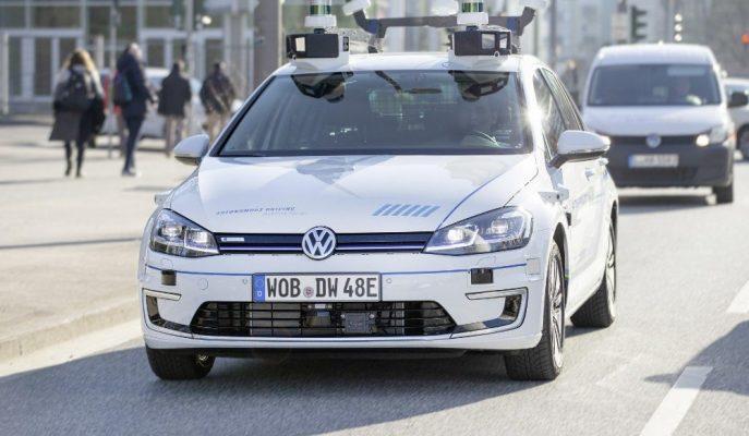 VW Otonom Araçlarda e-Golf ile Seviye 4 Testlerine Başladı!