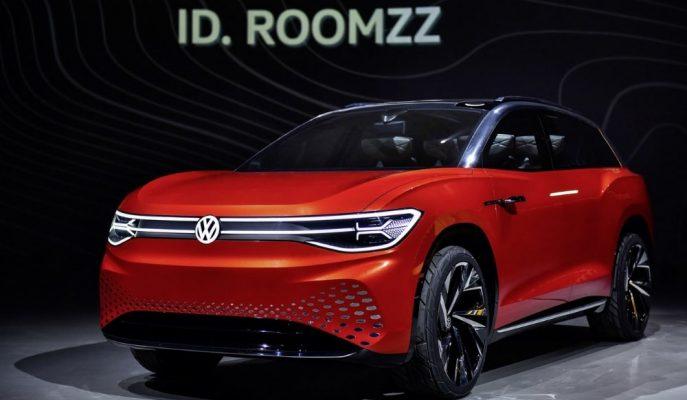 VW ID Ailesine Touareg'ten Daha Geniş EV SUV Getirecek