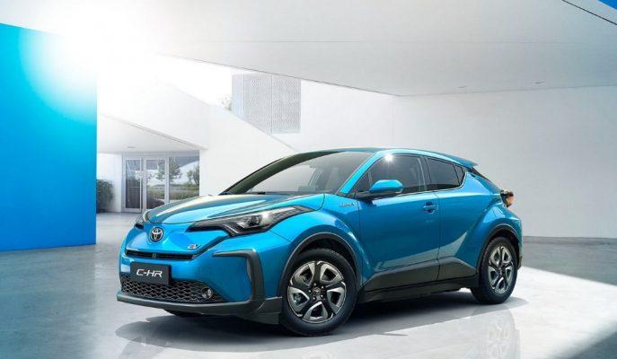 Toyota Dünyadaki İlk Tamamı Elektrikli Aracı CH-R'ı Çin'e Gönderiyor!