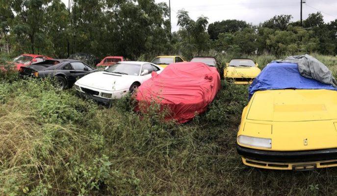 Orijinal Şasi Kodlarına Sahip Çürümeye Bırakılmış Milyon Dolarlık Ferrari'ler