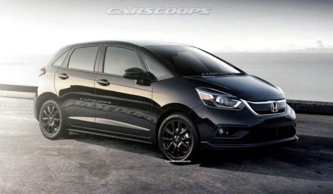 2020 Honda Jazz'ın Son Kasa Tasarımı Ortaya Çıkmaya Başladı!