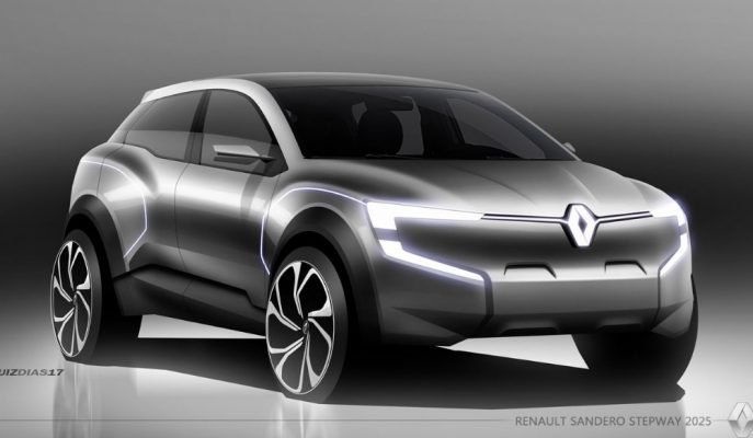 Dacia Sandero Stepway Adına Düşünülen Renault Konsepti Çok Şık!