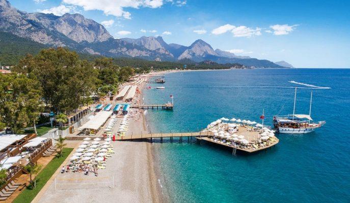 5 Yıldızlı 407 Tesis Bulunduran Antalya Dünyada En Çok Yabancı Turist Ağırlayan Üçüncü İl