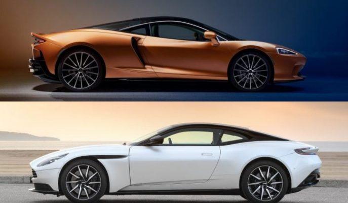 """İngilizlerin Grand Tourer Kapışması: """"McLaren GT Vs. Aston Martin DB11"""""""