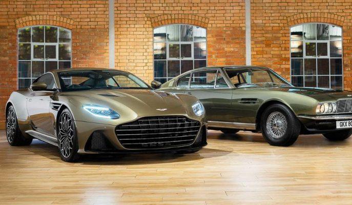 Aston Martin'in James Bond'un 50. Yılına Özel DBS Superleggera'sı