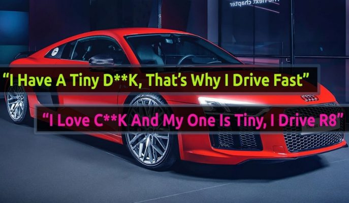 İngiltere Audi Çalışanlarının R8 Sahibine Yaptığı Sıra Dışı Eylemleri!