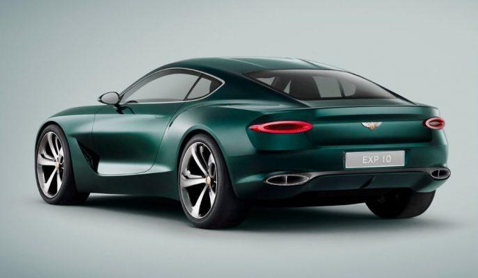 Bentley Temmuzda Gelecek Marka Çizgisini Belirleyecek Bir Konsept Tanıtacak!