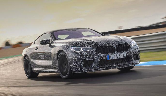 BMW M8 Prototipi Nürburgring Pist'i Tur Zamanlamasında Biraz Geride Kaldı
