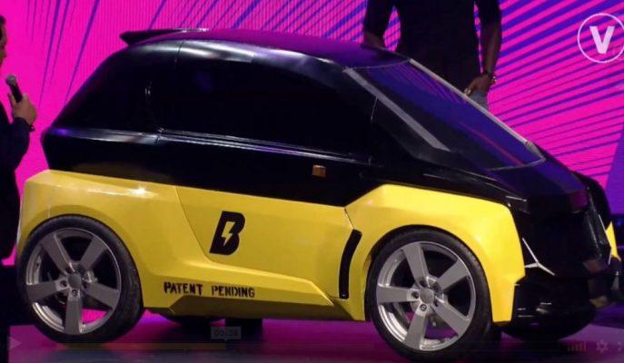 """Dünyanın En Hızlı Adamı Usain Bolt Kendi """"Bolt Nano"""" EV Araçlarını Tanıttı"""