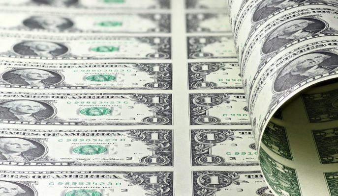 Dolar Merkez Bankası'nın Piyasadan 4,2 Milyar $ Çekileceği Haberiyle Düşüşe Geçti