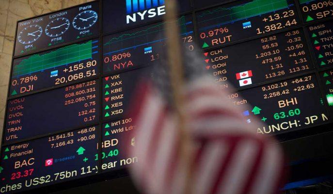 Dow Vadeli İşlemleri Artan Ticaret Savaşı Korkuları ile 250 Puan Düştü