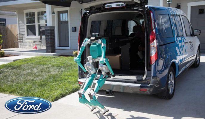 Ford Taşımacılık Sektörüne Otonom Robot Geliştiriyor!