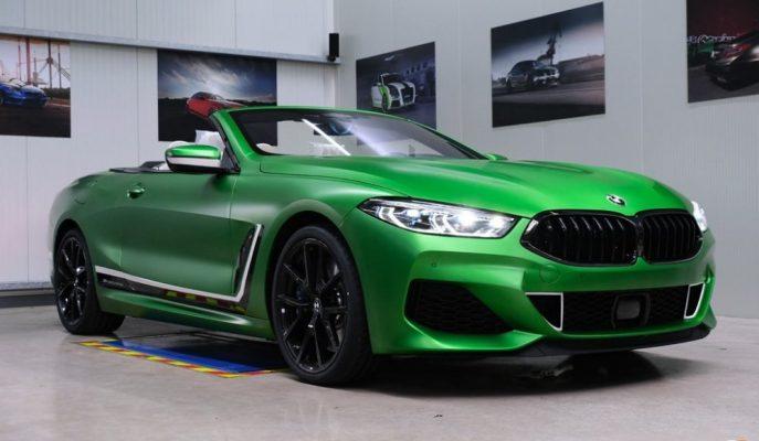 Fostla Dokunuşlu BMW M850i Cabrio Matte Krypton Green