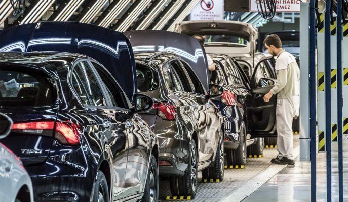 İhracatın Lideri Nisan Ayında Otomotiv Sektörü Oldu