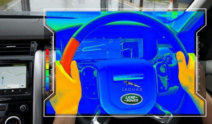 Jaguar-Land Rover'ın Geliştirdiği Duyusal Direksiyon Simidi Size Yön Verebiliyor!