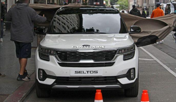 Kia'nın En Yeni Küçük SUV'u Seltos Objektiflere Takıldı!