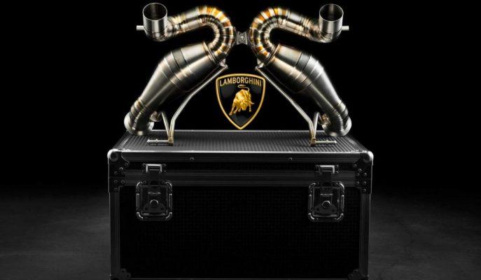 Valentino Balboni'den Lamborghini Aventador SVJ'ye Muazzam Bir Egzoz Sistemi!