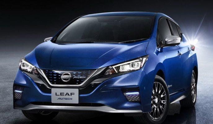 Nissan Leaf'in Japon Pazarına Özel Autech Modifiyesi!