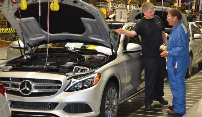 Mercedes ABD'de C-Serisi Üretimini Bitiriyor!