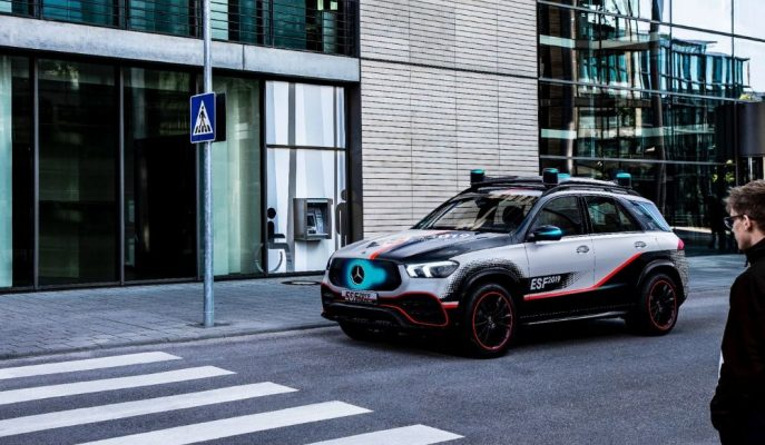 Mercedes'in Güvenlik Deneylerine Hazırladığı Yeni GLE SUV