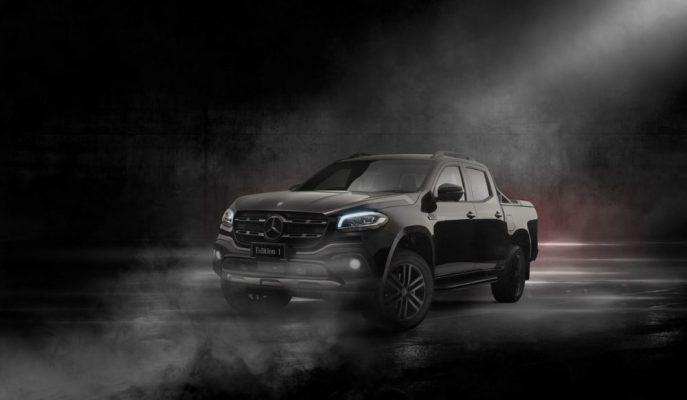 "Farklı Donanımlara Sahip ""Mercedes Edition-1 X350d 4Matic"" Avustralya'ya Gidiyor"