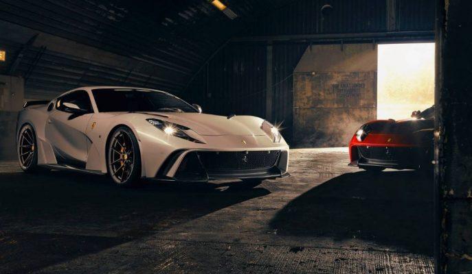 Novitec'in N-Largo'su Ferrari'nin 812 Superfast'inden Daha Hızlı!