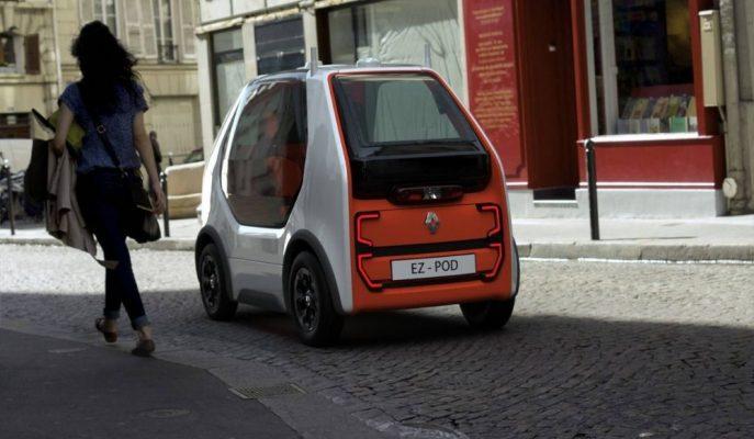 Renault'un Twizy Tabanlı Otonom Araç Konsepti EZ-Pod