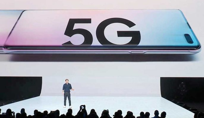 Samsung'un Amiral Gemisi Galaxy S10 5G ile 1 Gigabit Hıza Ulaştı