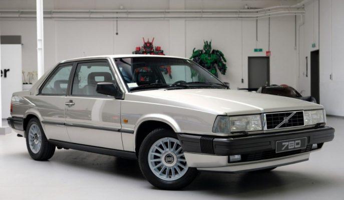 1988 Model Bertone Tasarımlı Nadir Bulunan Volvo 780 Coupe Satış Listelerinde!