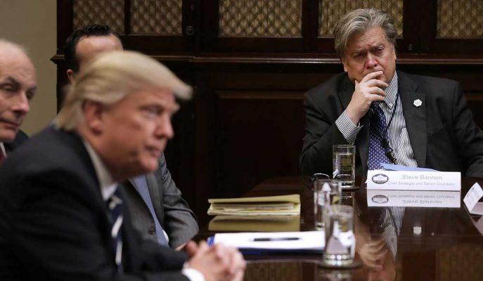 Steve Bannon: Trump'ın Çin'le Ticaret Savaşından Çekilmesi için Hiç Şans Yok