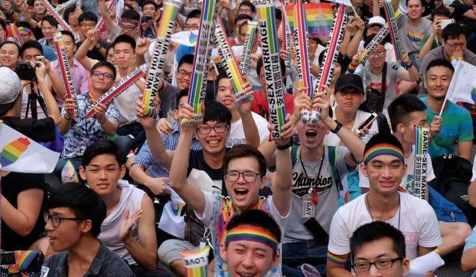 Tayvan Eşcinsel Evliliğe İzin Veren İlk Asya Ülkesi Olurken Tsai'nin 2. Dönemi Riske Girdi!