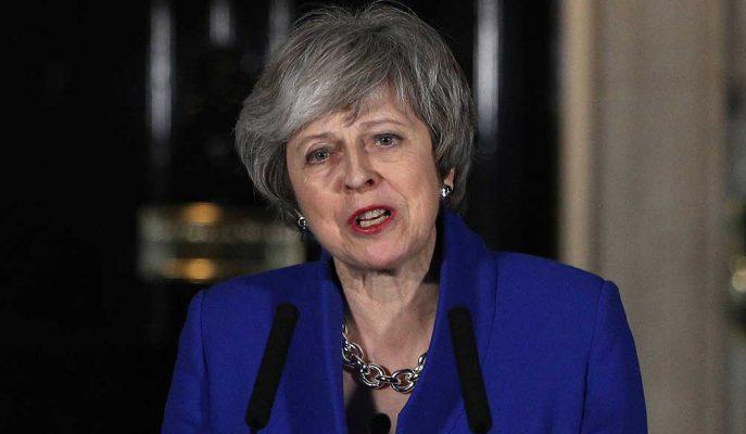 Theresa May 7 Haziran'da Görevinden İstifa Edeceğini Açıkladı