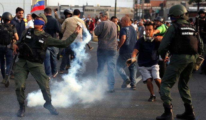 ABD'den Venezuela'daki Darbe Girişimine Destek Gelirken, Türkiye Tepki Gösterdi