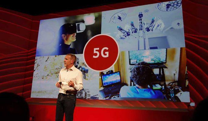 Vodafone 5G Teknolojisinin Startını İngiltere'den Veriyor