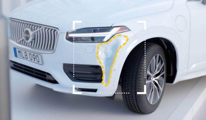 Volvo Kaza Sonrası Yardıma da El Attı!