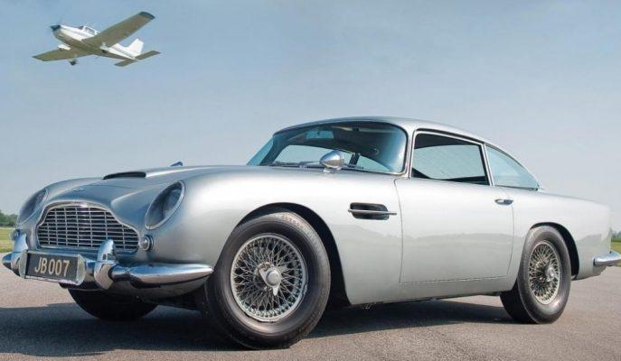 Aston Martin'in Sıfırı Üretilecek 1964 DB5'in Donanımları Sizi Hayrete Düşürecek