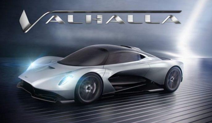 "Aston Martin'in AM-RB 003 Kodlu Konsepti ""Valhalla"" İsmini Aldı!"