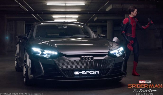 Yeni Audi E-Tron GT, Spider Man: Far From Home Filminde!