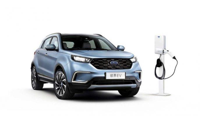 Ford'un Çin'deki İlk Elektrikli Aracı Territory 360 Km Menzil Sunuyor!
