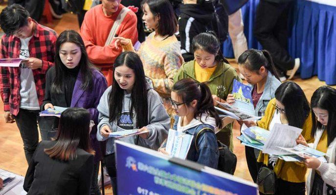 Çin'in İş Piyasası Ticaret Savaşı Nedeniyle Yeni Baskılar Altında