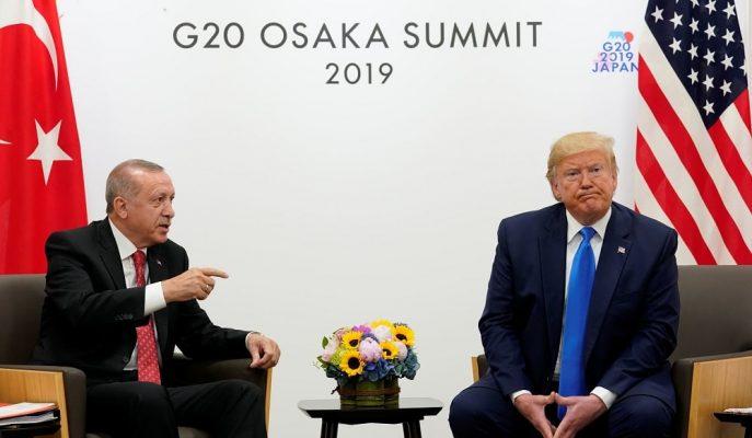 Erdoğan ve Trump ABD'nin Olası Yaptırımlarını G-20'de Değerlendirdi