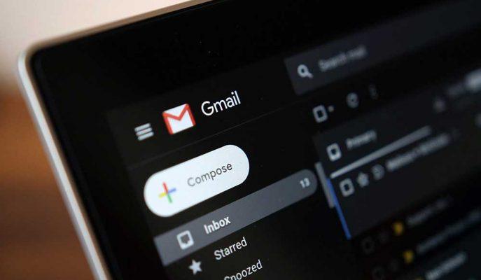 Google E-Posta Servisi Gmail'e Karanlık Tema Ekliyor