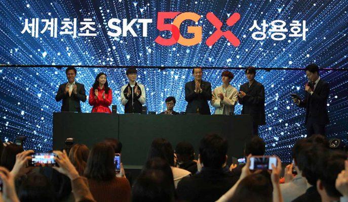 Güney Kore'de 5G Kullanıcılarının 1 Milyonu Geçtiği Açıklandı