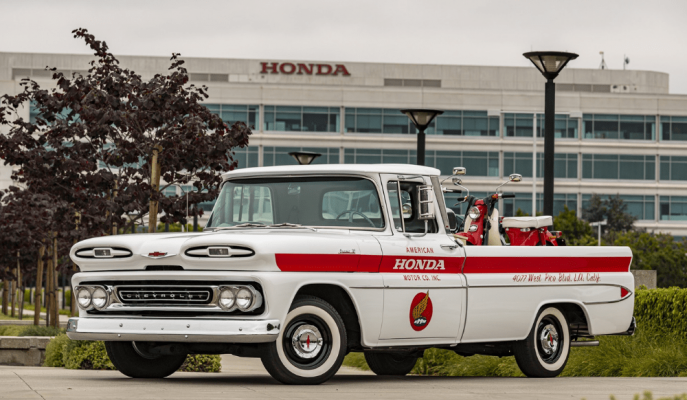 Honda, Amerika Kıtasındaki 60. Yılını Bir Chevy Pick-up ile Kutluyor
