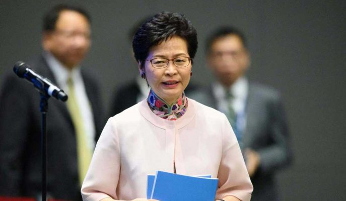 Hong Kong Protestocuları Carrie Lam'in İstifası için Yeniden Toplandı!