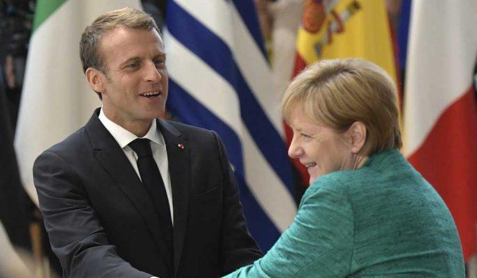Macron, Avrupa Komisyonu Başkanlığına Aday Olursa Merkel'i Destekleyecek