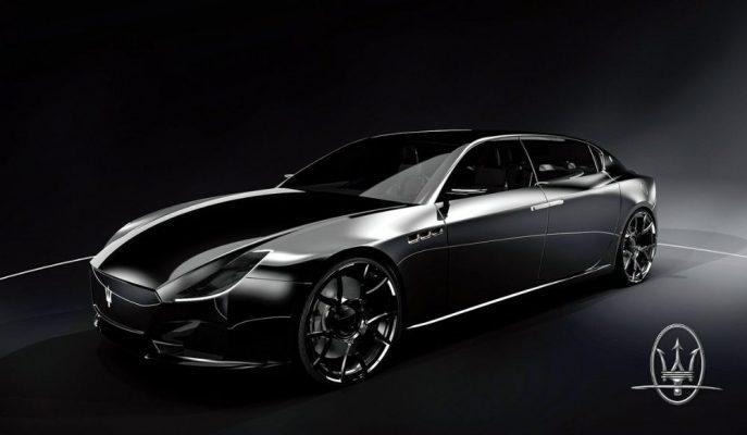 Maserati'ye Çizilen L'Ultimo Konsepti Quattroporte'den Fazlasını Gösteriyor