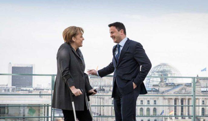 Merkel, Avrupa Komisyonu Başkanlığı için Lüksemburg Başbakanı Bettel'in Desteğini de Aldı
