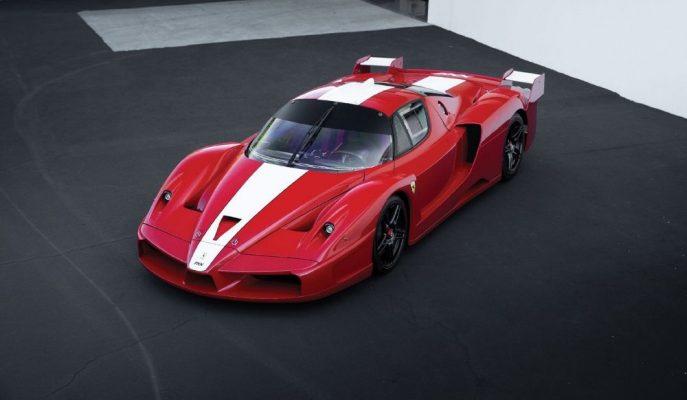 RM Sotheby'nin Açık Artırmasında Bol Sıfırlı Ferrari FXX Satışı Yapılacak!
